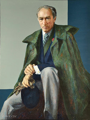 Portrait Of The Right Honourable Pierre Elliott Trudeau