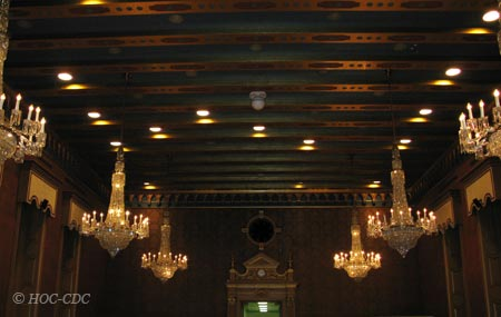 A tale of six chandeliers history arts and architecture house chandeliers aloadofball Choice Image