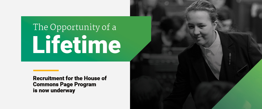 House of Commons Page Program