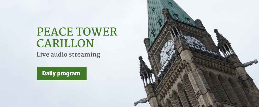 Peace Tower Carillon - Live audio streaming