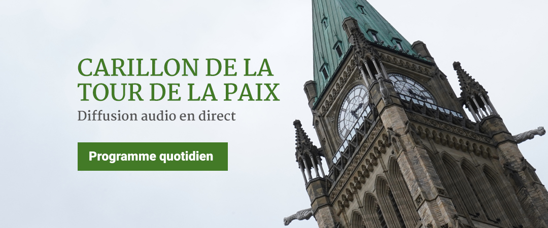 Carillon de la Tour de la paix - Diffusion audio en direct