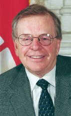 Photo - Hon. John Harvard - Click to open the Member of Parliament profile