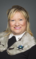 Photo - Yvonne Jones - Click to open the Member of Parliament profile