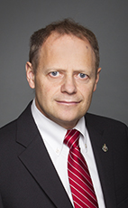 Photo - Kevin Lamoureux - Click to open the Member of Parliament profile