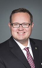 Photo - Bryan May - Click to open the Member of Parliament profile