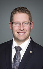 Photo - John Nater - Click to open the Member of Parliament profile