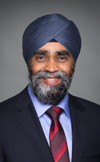 Photo - Hon. Harjit S. Sajjan - Click to open the Member of Parliament profile