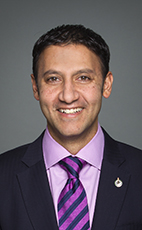 Photo - Arif Virani - Click to open the Member of Parliament profile