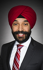 Photo - Hon. Navdeep Bains - Click to open the Member of Parliament profile
