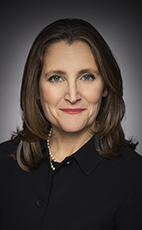 Photo - L'hon. Chrystia Freeland