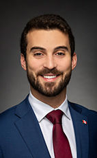 Photo - Eric Melillo - Click to open the Member of Parliament profile