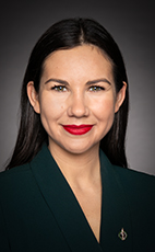 Photo - Kristina Michaud - Click to open the Member of Parliament profile