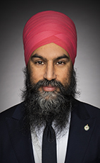 Photo - Jagmeet Singh - Click to open the Member of Parliament profile