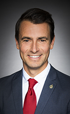 Photo - Adam van Koeverden - Click to open the Member of Parliament profile
