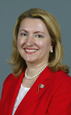 Photo - The Honourable Eleni Bakopanos - Click to open the Member of Parliament profile