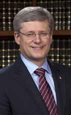 Photo - The Right Honourable Stephen Harper