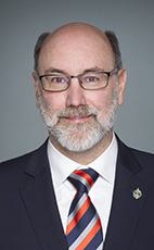 Photo - Robert Aubin - Click to open the Member of Parliament profile
