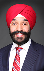 Photo - The Honourable Navdeep Bains - Click to open the Member of Parliament profile