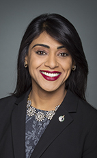 Photo - The Honourable Bardish Chagger - Click to open the Member of Parliament profile