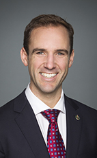 Photo - Matt DeCourcey - Click to open the Member of Parliament profile