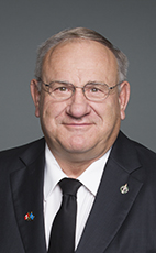 Photo - Jim Eglinski - Click to open the Member of Parliament profile