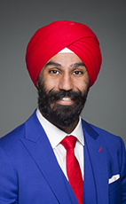 Photo - Raj Grewal - Click to open the Member of Parliament profile
