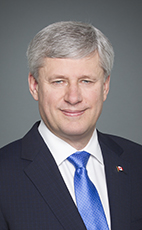 Photo - The Right Honourable Stephen Harper - Click to open the Member of Parliament profile