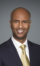 Photo - The Honourable Ahmed Hussen - Click to open the Member of Parliament profile