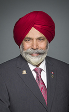 Photo - Darshan Singh Kang - Click to open the Member of Parliament profile