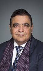 Photo - The Honourable Deepak Obhrai - Click to open the Member of Parliament profile