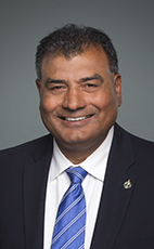 Photo - Bob Saroya - Click to open the Member of Parliament profile