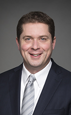 Photo - Andrew Scheer - Click to open the Member of Parliament profile