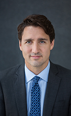 Photo - The Right Honourable Justin Trudeau - Click to open the Member of Parliament profile
